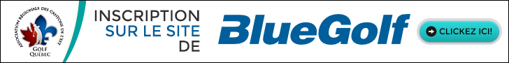 Inscription BlueGolf